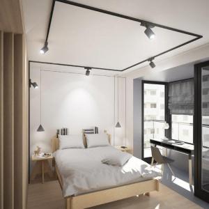 """Wnętrze """"Pod Kreskę"""", czyli dwa mieszkania w jednym projekcie"""