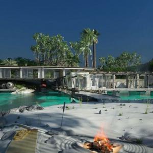 Bay House: Industrialna willa na bajecznej plaży