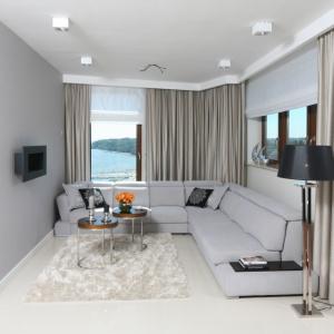 Mały salon prosto od architekta