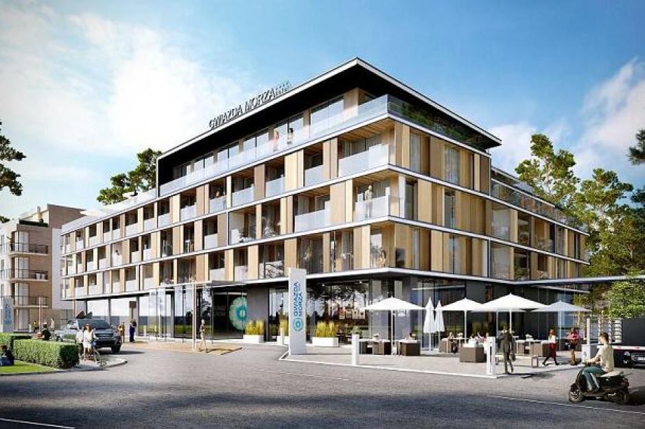 Gwiazda Morza: apartamenty wakacyjne już są, czas na luksusowy hotel