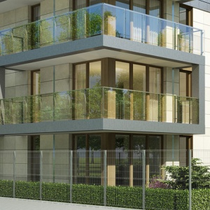 Z apartamentów Błonia Residence widać kopiec Kościuszki