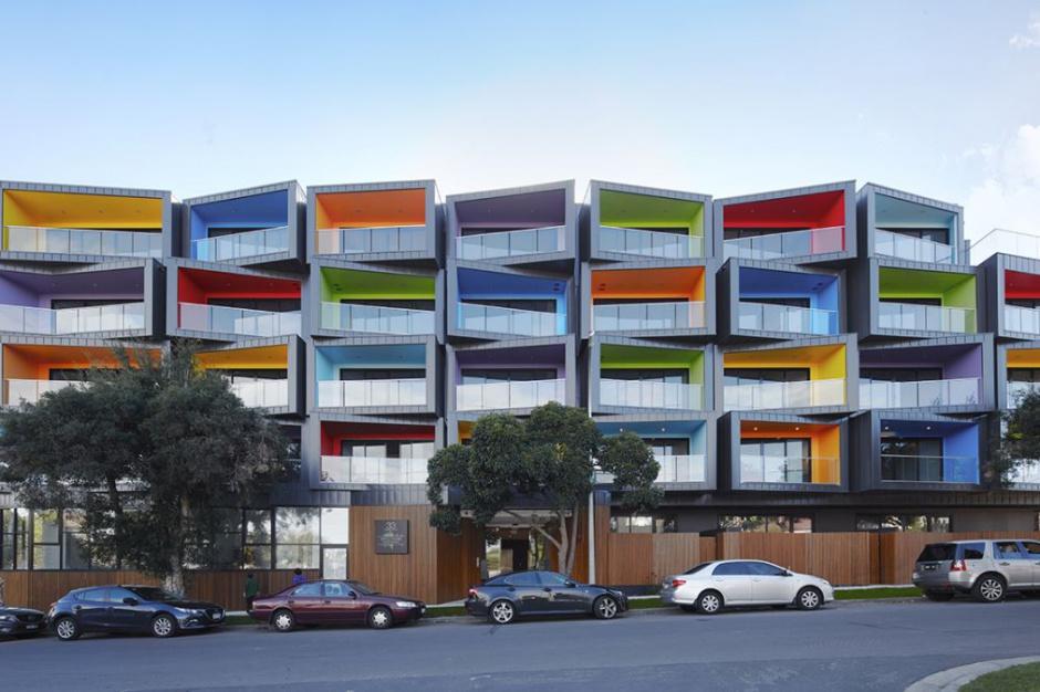 Spectrum Apartments: Apartamenty w kolorach tęczy