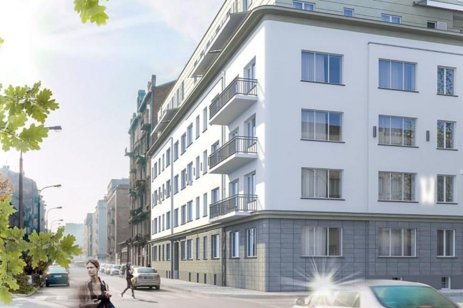 Kropka Bis buduje apartamentowiec w Warszawie