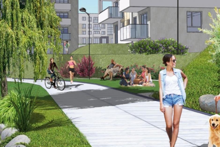 Jasień Bulwary: Słoneczne mieszkania nad potokiem