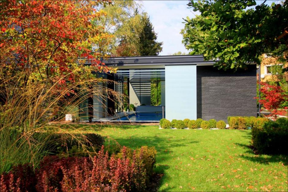 Dom Trzy Ogrody: Rezydencja podporządkowana roślinom