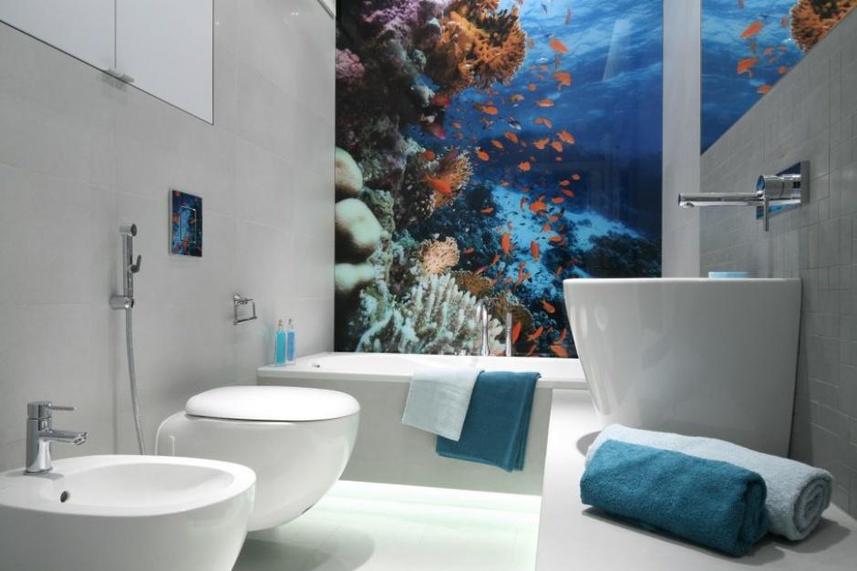Ciekawe aranżacje białej łazienki