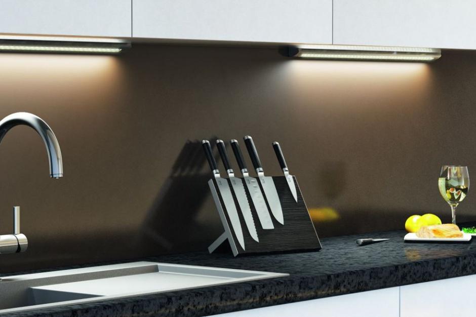 Jasne i komfortowe oświetlenie kuchni