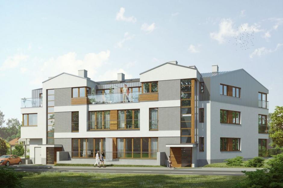 Villa Altowa nawiązuje do przedwojennej atmosfery Warszawy
