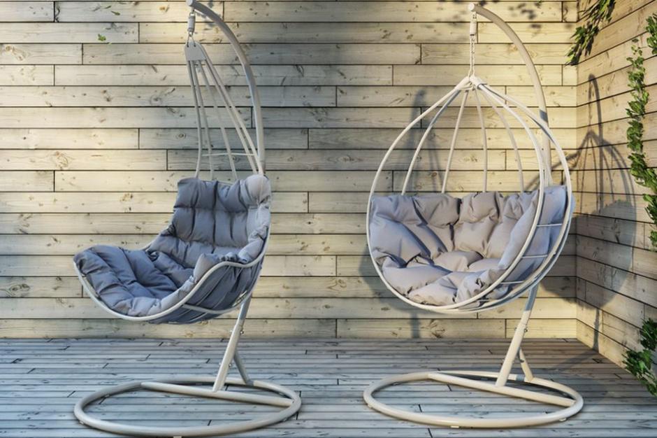 Huśtawki ogrodowe idealne do bujania w obłokach