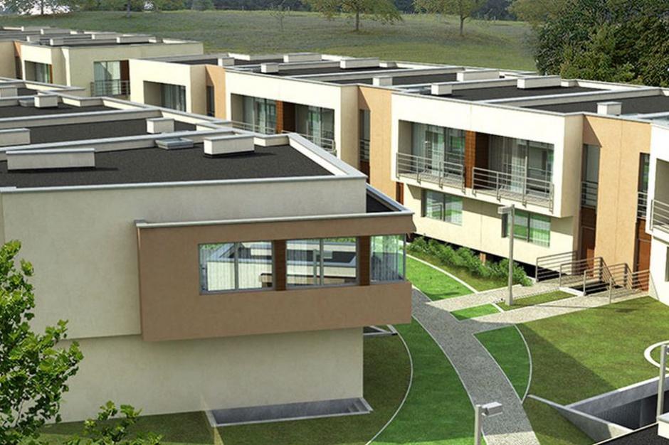 Osiedle Ludwinów wyróżnia się prostą bryłą budynków