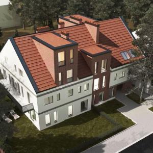 Dom pod Orzechem wpisuje się w charakter miasta ogrodu
