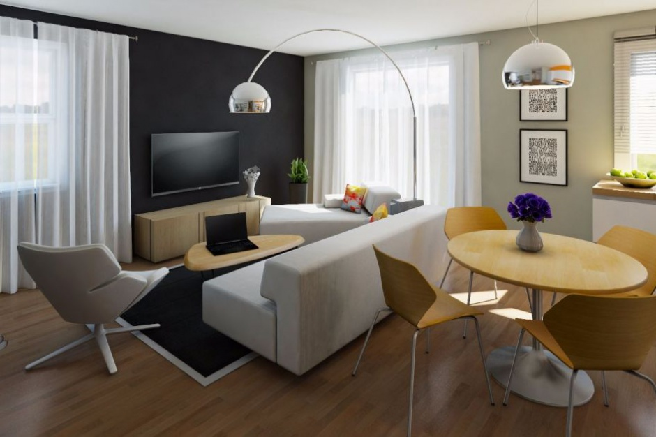 Invest Bud kusi przykładową aranżacją mieszkania w Płocku