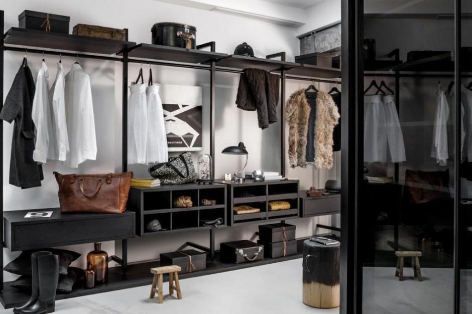 Designerska garderoba powodem do dumy