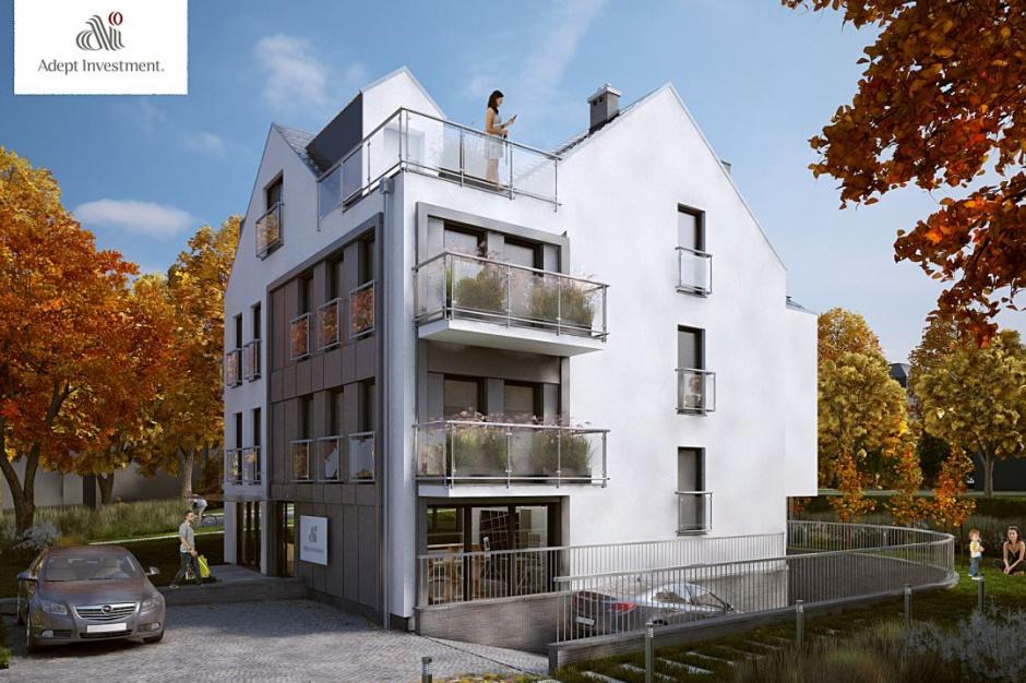 Villa Adept II: Kameralne apartamenty z oknami sięgającymi podłogi
