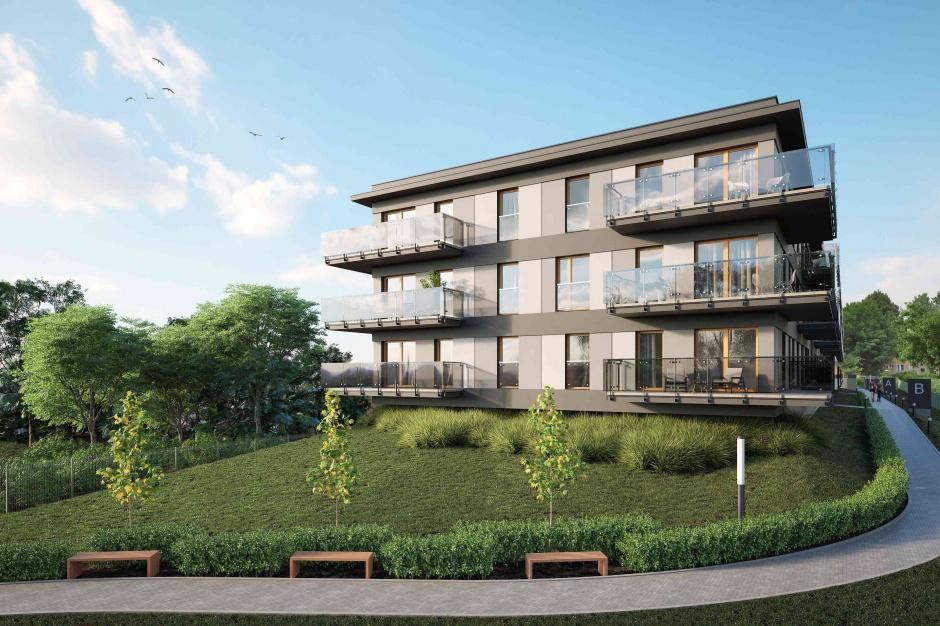 Apartamenty Zielony Sołacz: nowoczesne i otwarte na park