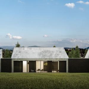 Dom z widokiem na Beskidy