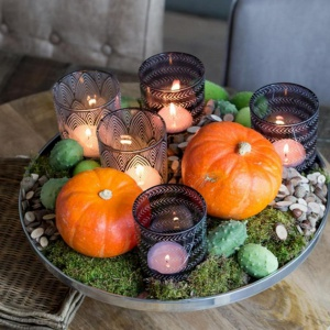 Lampiony wprowadzą jesień do domu