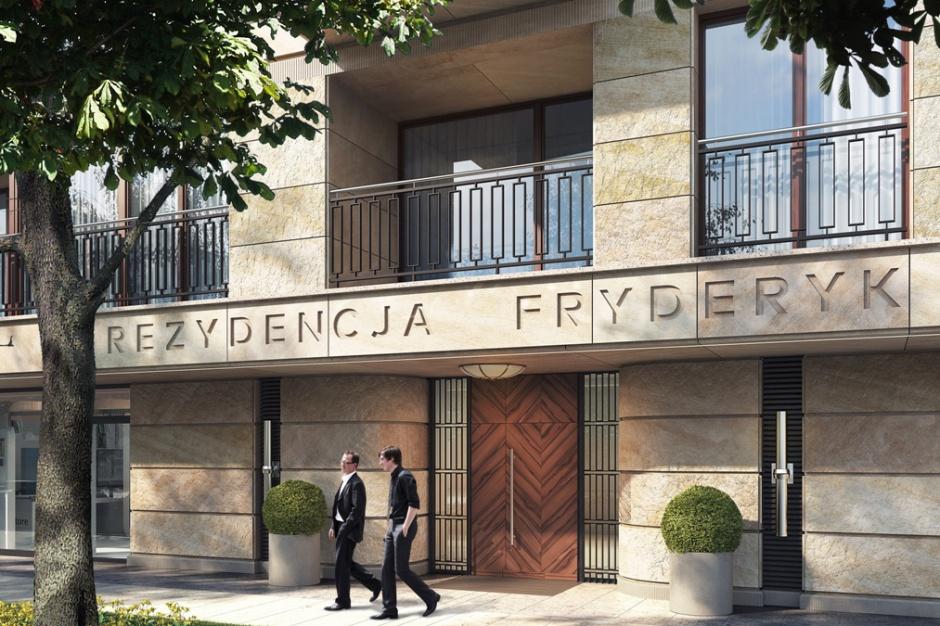 Rezydencja Fryderyk - w przedwojennym stylu