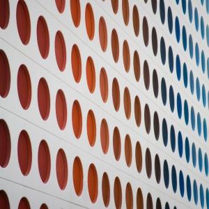 500 Brickell. Prostokątne wieże mieszkalne z motywem koła