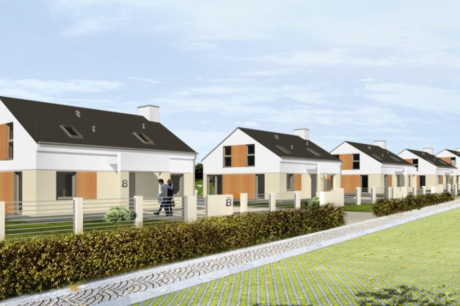 W Tczewie budują domy blisko jeziora