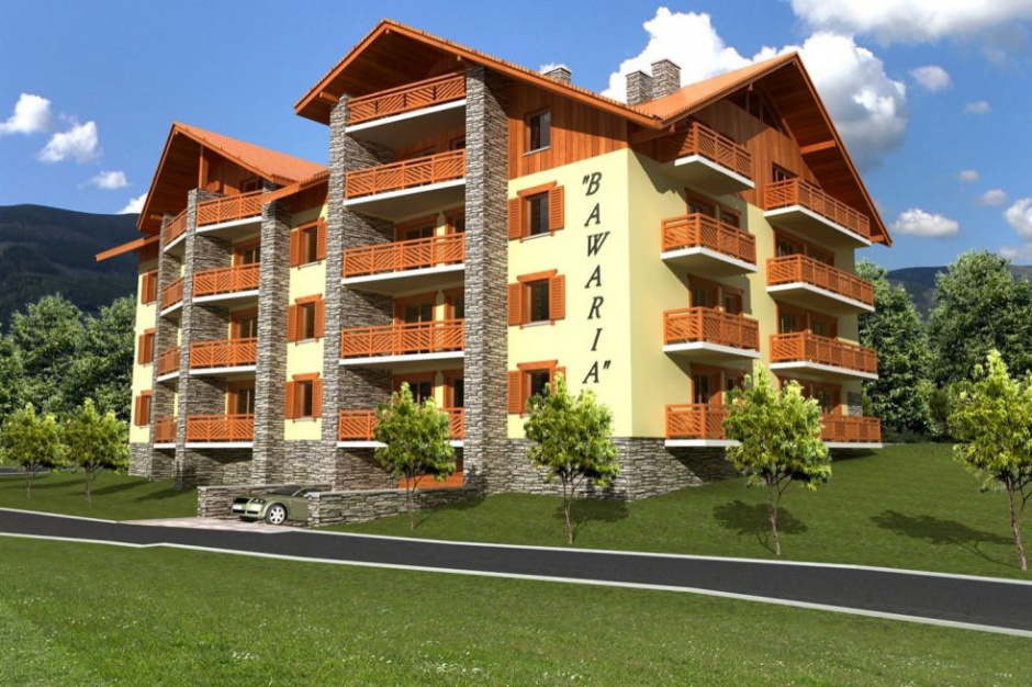 Apartamenty Bawaria. Alpejska architektura w stolicy Karkonoszy