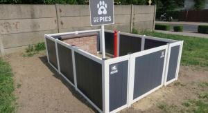 Na Osiedlu Tysiąclecia w Koźminie Wielkopolskim powstały toalety dla psów