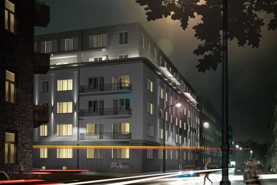 Praska kamienica Środkowa 13 dostanie dwa nowe piętra