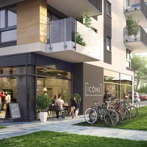 Icône przyjazną enklawą mieszkaniową na Grochowie