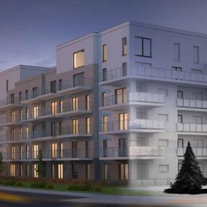 Apartamenty Marina. Projekt Plaża to cztery piętra eleganckiej architektury nad taflą jeziora