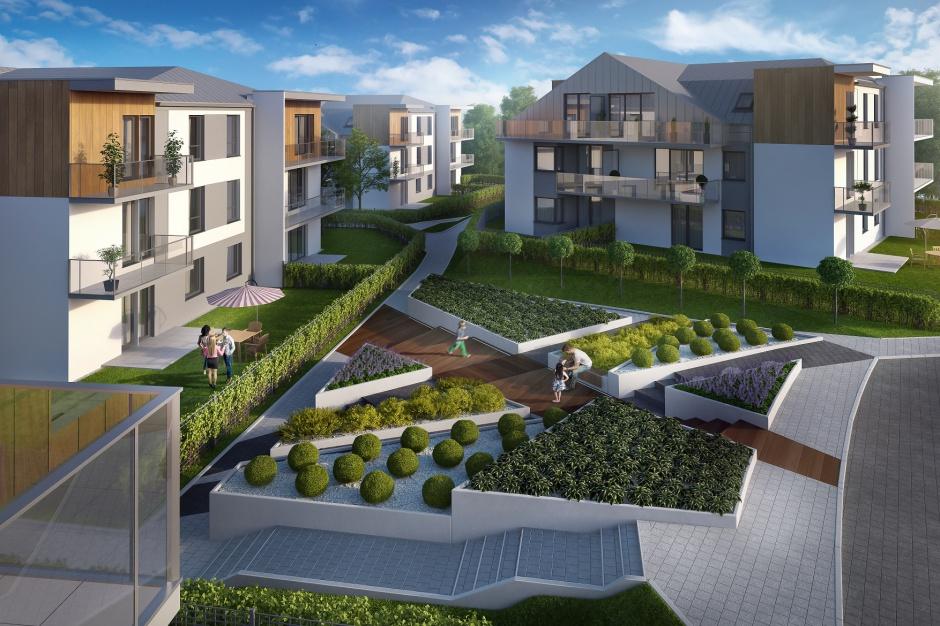 Kamienice Malczewskiego wracają na rynek. Allcon rozbuduje znane gdańskie osiedle apartamentów