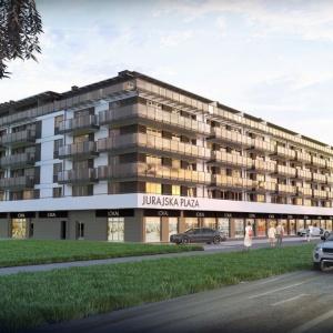 Jurajska-Plaza. Mieszkania w zgrabnej i lekkiej bryle