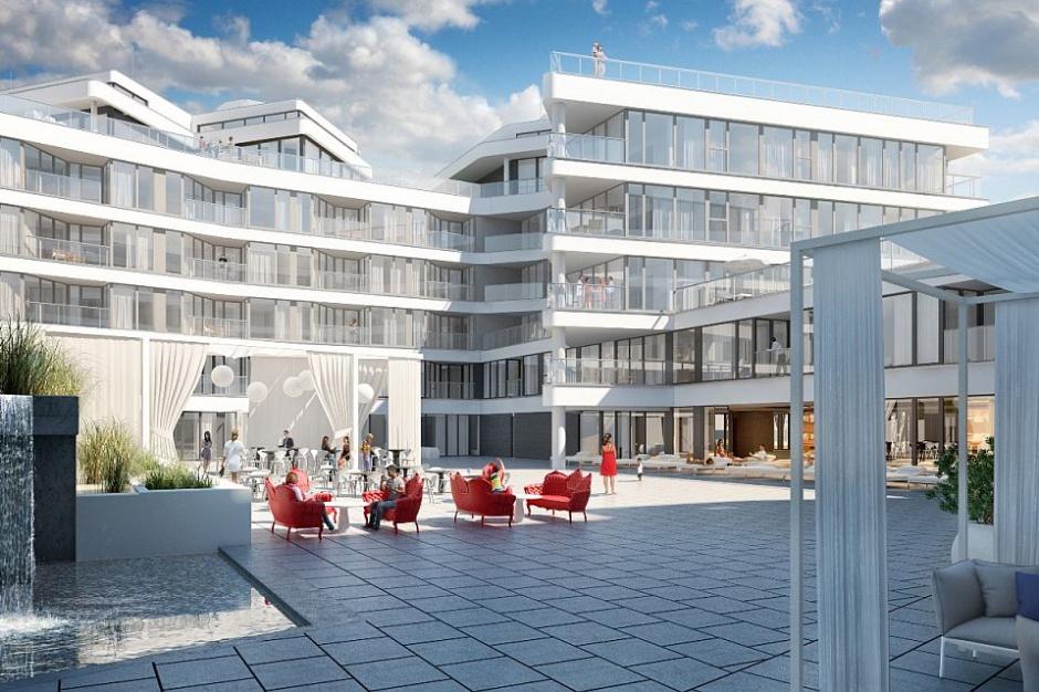 Zaglądamy na budowę luksusowych apartamentów Dune Resort