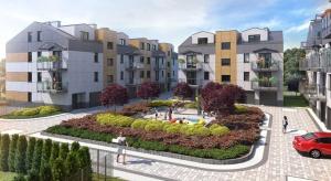 Apartamenty Borek kuszą detalem architektonicznym