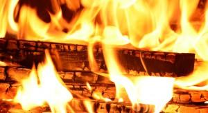 Opolskie: kominek prawdopodobną przyczyną pożaru domu