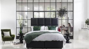 Modna sypialnia. Postaw na ciemną zieleń