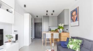Małe mieszkanie - pomysł na kawalerkę