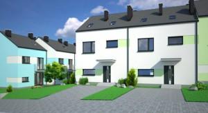 Nowe domy w Rudzie Śląskiej