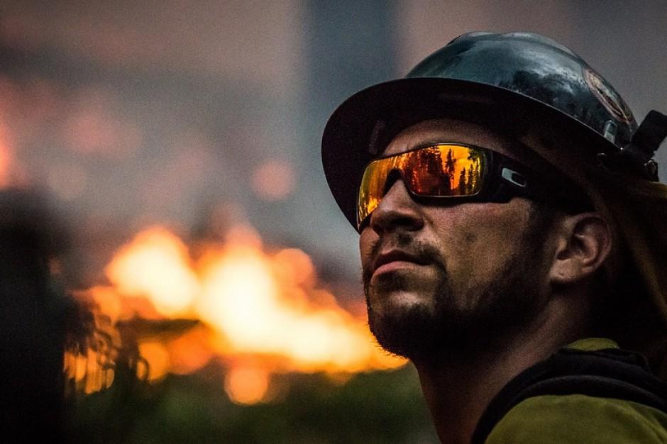 Łódzkie: w pożarze domu w Zgierzu zginął mężczyzna