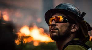 Pożar w kamienicy w Chojnicach