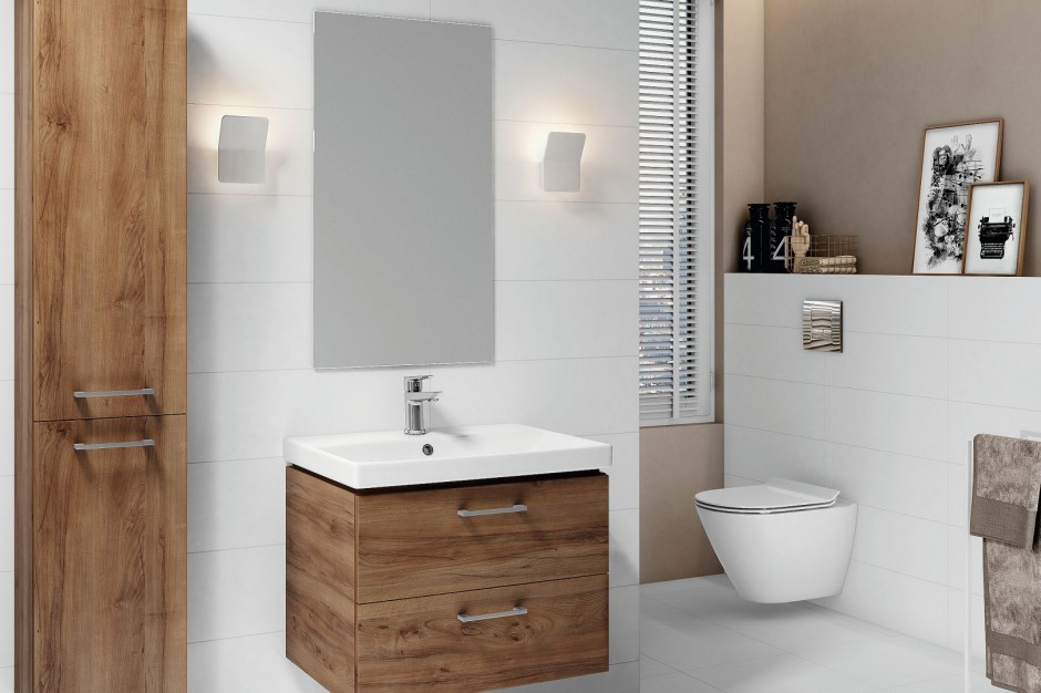 Mała łazienka. Te meble się sprawdzą
