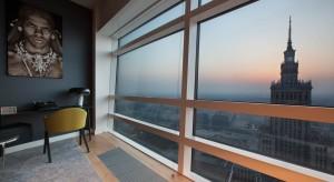 Apartament w stylu etno na 38 piętrze Złotej 44.