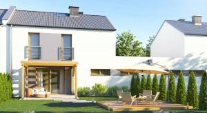 Na Skałce: nowe domy szeregowe z dużym ogrodem