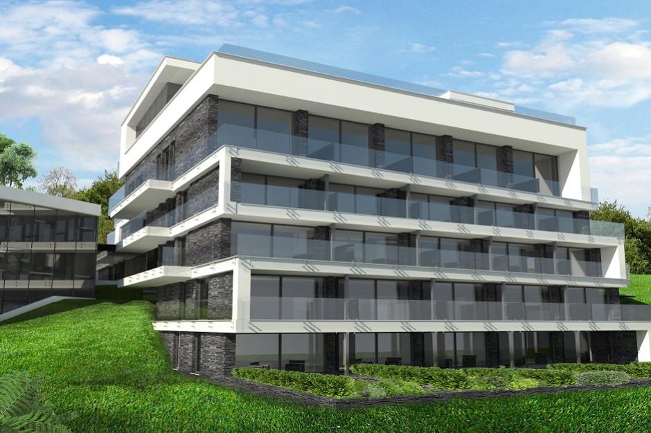 Nowa odsłona peerelowskiego hotelu: nowoczesny apartamentowiec z widokiem na Beskid