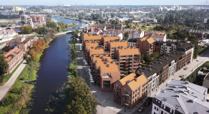 Wiecha na gdańskim osiedlu Riverview