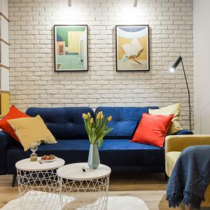 Nowoczesne wnętrze. Zobacz mieszkanie zainspirowane sztuką