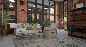 Klimatyczne wnętrze: mieszkanie w stylu loft