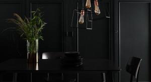 Aranżacja wnętrza farby metaliczne i w odcieniach czerni
