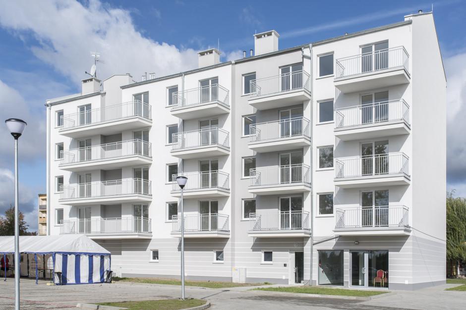 Mieszkaniem Plus w Giżycku zainteresowane głównie osoby z dochodem do 1650 zł