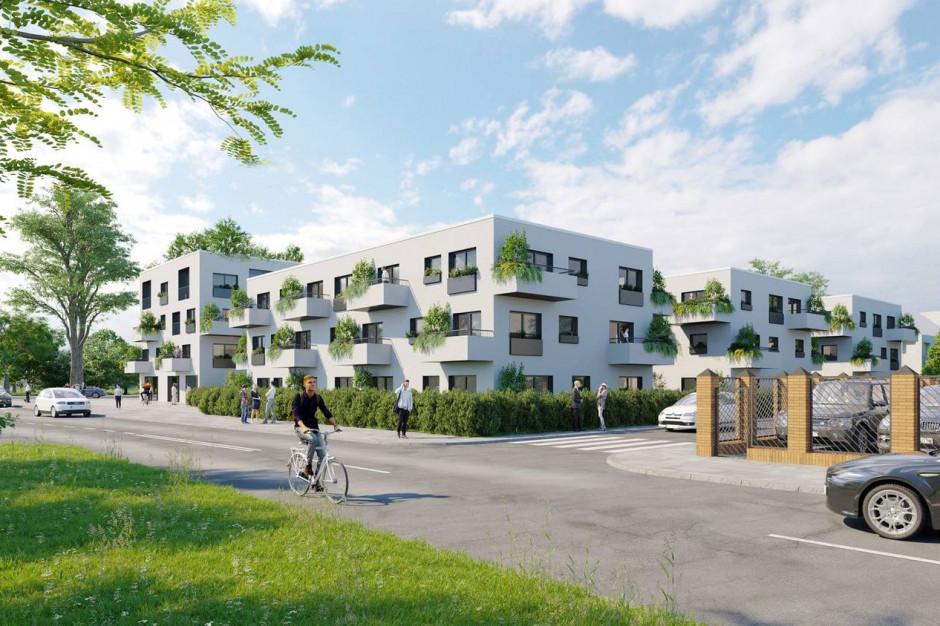 Trójpole: apartamenty z ogrodem na dachu