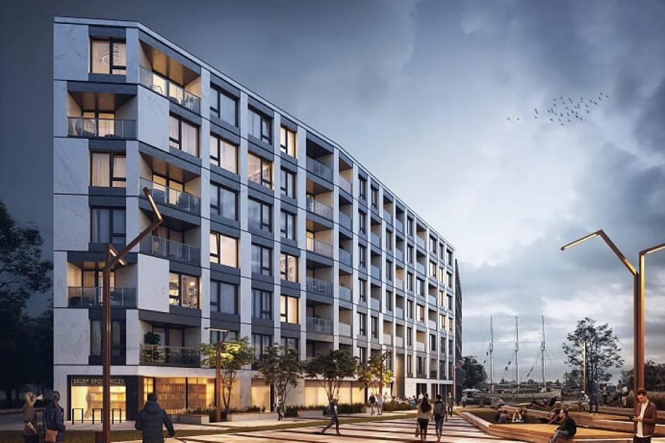 Chlebova Apartments już pnie się do góry na gdańskim Nowym Mieście